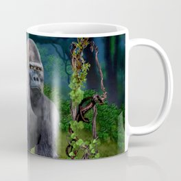 Silverback Gorilla Guardian of the Rainforest Coffee Mug