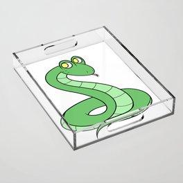 Sneeky Snek Acrylic Tray