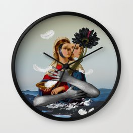 Can't be always like a saint, I have feelings... Wall Clock