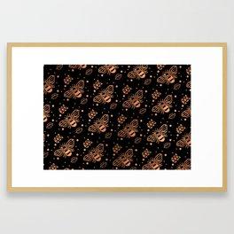 oh honey Framed Art Print