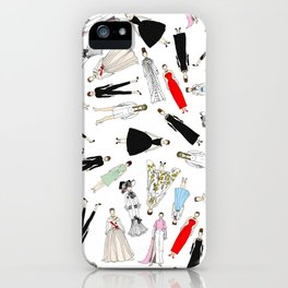 Audrey Circle Fashion iPhone Case