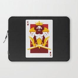King of Diamonds - Berseker King Laptop Sleeve