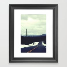 Big Tupper Framed Art Print