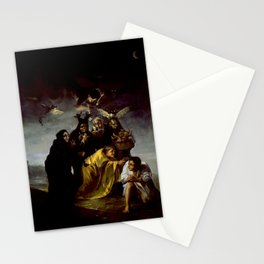 THE WITCHES SPELL - FRANCISCO GO Stationery Cards