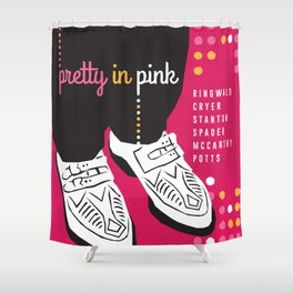 80s TEEN MOVIES :: PRETTY IN PINK Shower Curtain