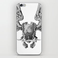 FF14 - Chocobo / materia coat of arms iPhone & iPod Skin