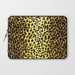 Leopard Print Animal Wallpaper Laptop Sleeve