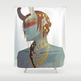 MU: Jotnar Loki Shower Curtain
