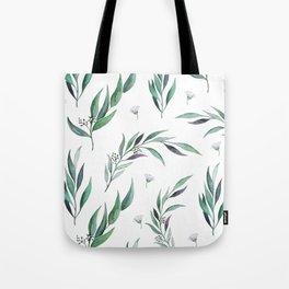Native Gum Leaves Tote Bag