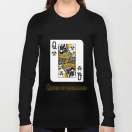 Queen of Biohazard Long Sleeve T-shirt