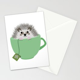 St. Patrick's Hedgehog Stationery Cards