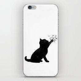 Poetic cat iPhone Skin