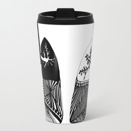 Particle Filtration - Lungs - Respiratory System Travel Mug