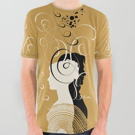 Pride and Prejudice All Over Graphic Tee