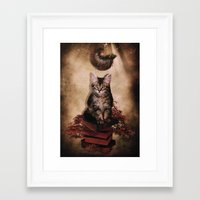 lucas david Framed Art Prints featuring Lucas by SOPHIA FREITAS