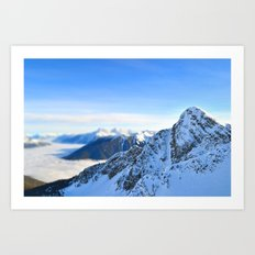 Mountain Peak Art Print