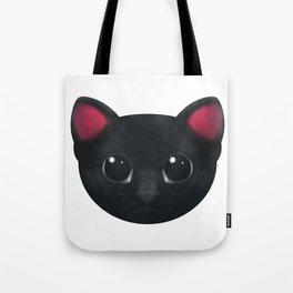 Black Cat Hypnotise Tote Bag