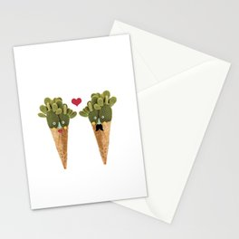 Ms and MR Cactus Stationery Cards
