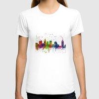 atlanta T-shirts featuring Atlanta Skyline by Marlene Watson