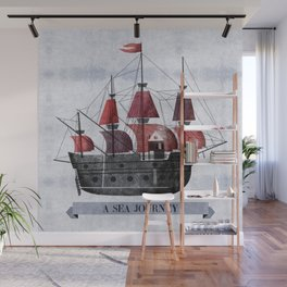 A Sea Journey #1 Wall Mural