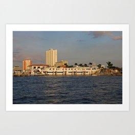 Shoreline in Fort Myers I Art Print