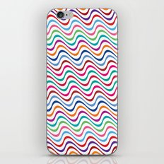 Rippling Colors iPhone & iPod Skin