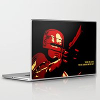 robocop Laptop & iPad Skins featuring Robocop - Alternative poster by Lorenzo Imperato