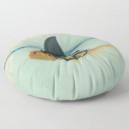 Goldfish with a Shark Fin Floor Pillow