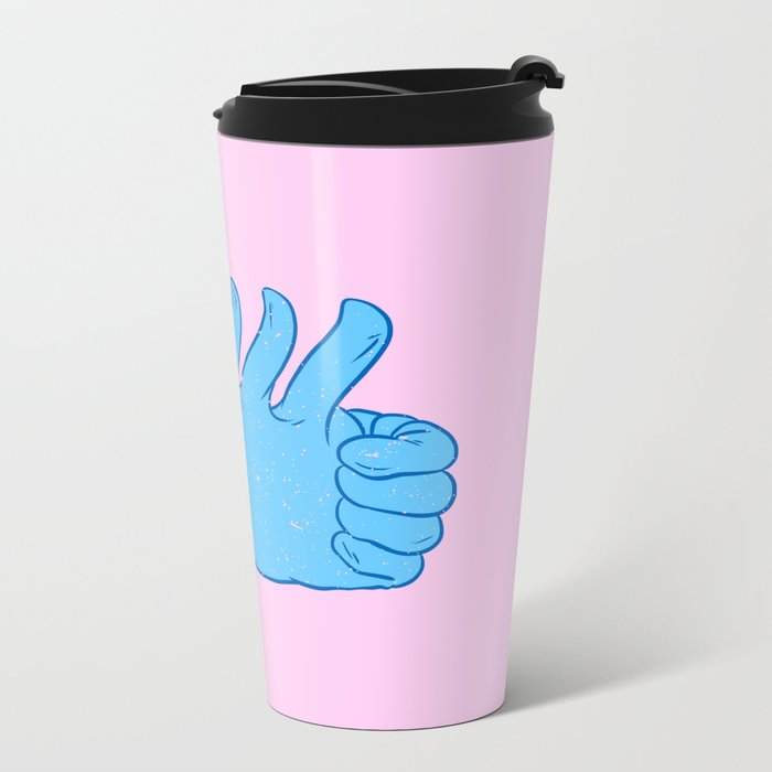 My like is bigger than yours! Metal Travel Mug
