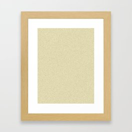 Blond Yellow Saturated Pixel Dust Framed Art Print
