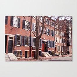 Washington Square West, Philadelphia Canvas Print
