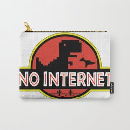 No internet Carry-All Pouch