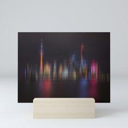 Shanghai Skyline III Mini Art Print