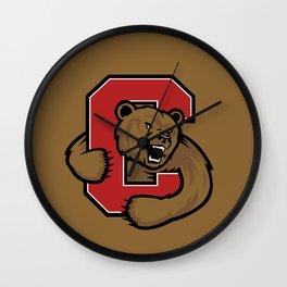 Cornell Big Red Logo Wall Clock