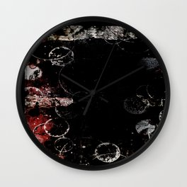 Darkened Awe Wall Clock