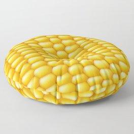 Corn Cob Background Floor Pillow