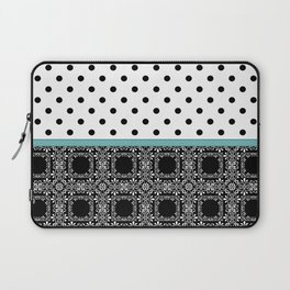 A combined decorative pattern . Laptop Sleeve