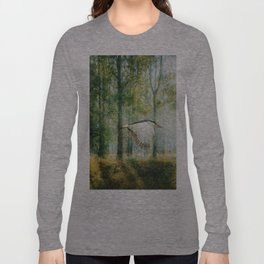 Magical Forests Impressionism Long Sleeve T-shirt