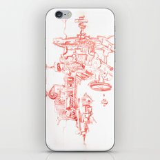 Abstract Lines, Linear Pyramid Space iPhone & iPod Skin