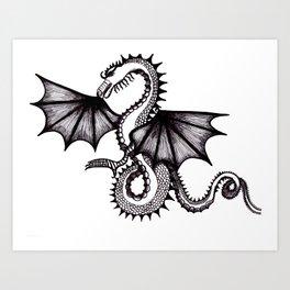 dragon city Art Print