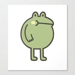 Awesome Frog Canvas Print
