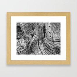 Good Wood Framed Art Print