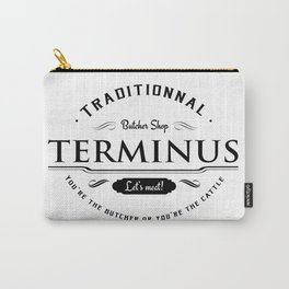 Walking dead Terminus butcher Carry-All Pouch