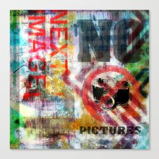 next image no pictures Canvas Print