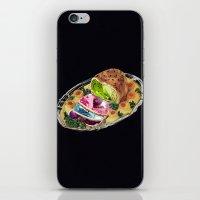 gem iPhone & iPod Skins featuring Gem Roast by Eugenia Loli