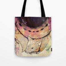 Black Hole in the Woods Tote Bag