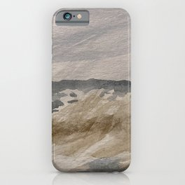 Soul by the Seaside  iPhone Case