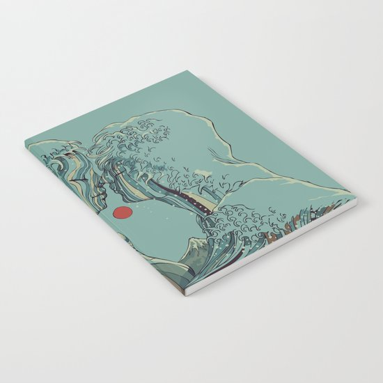 Kissing The Wave Notebook