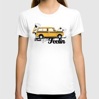 70s T-shirts featuring 70s Feeling Clubman by Siegeworks