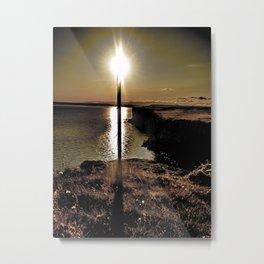 Sun torch Metal Print